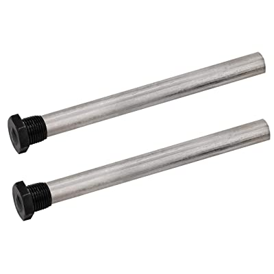 "Quick Products QP-MAR9.5 Magnesium Anode Rod for Atwood 10 Gal Water Heaters (Repl 11593) - 9.5"", 1/2"" NPT, 2-Pack: Automotive"