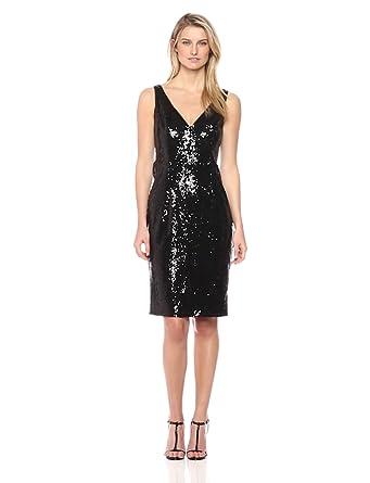 1bc59e8b Marina Women's Midi Sequin Dress at Amazon Women's Clothing store: