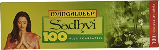 Mangaldeep Sadhvi Agarbatti - 100 Sticks