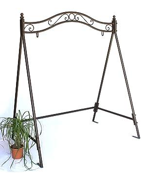 Estructura para balancín 082505 columpio de jardín de hierro, estructura metal