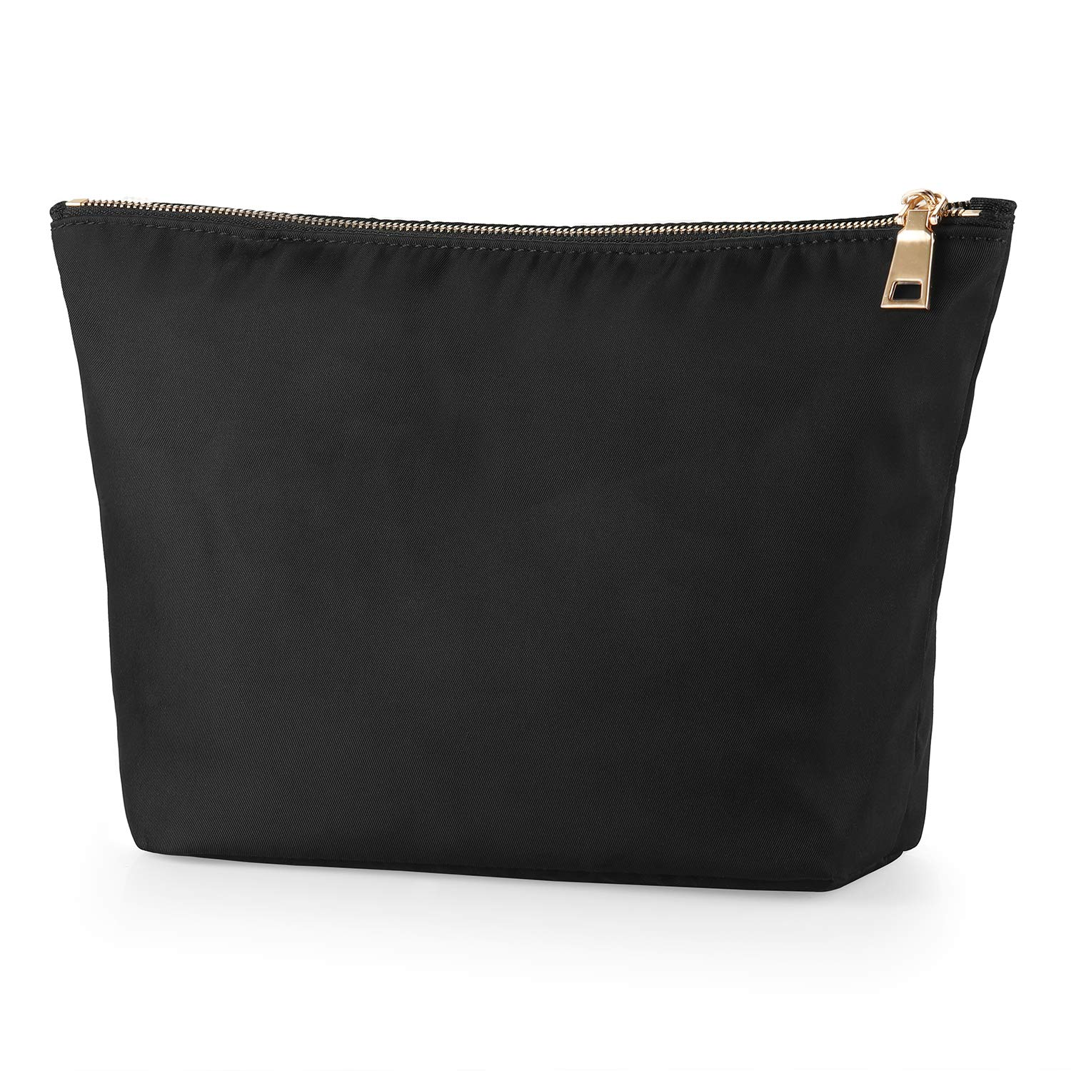 FOREGOER Nylon Large Makeup Bag Clutch Pouch Cosmetic Toiletry Bag for Womens