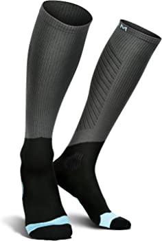 HOFAM Unisex Athletic Fit Compression Socks