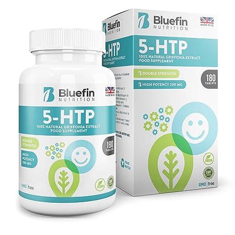 5-HTP Ultra Pure 200mg | Favorece el Sueño y un Estado de Ánimo Natural | Extracto Genuino de Semillas de Griffonia | Alta Biodisponibilidad | ...
