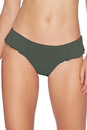 217dbb2dc4 Amazon.com: Robin Piccone Women's Lina Side Ruffle Bikini Bottom: Robin  Piccone: Clothing