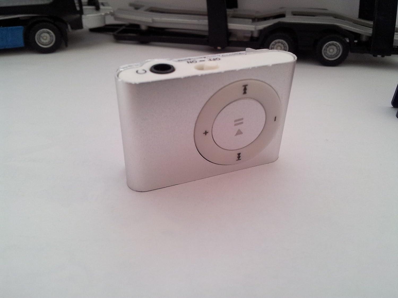 Mini MP3 player with Full Quran recitation Top reciters (Silver)