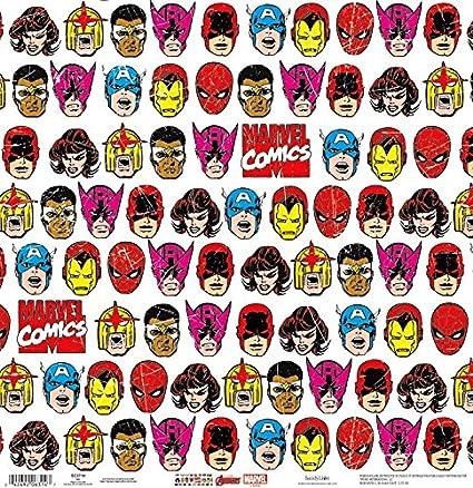 amazon com avengers grid 12 x 12 scrapbook paper one sided 25