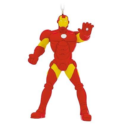 Amazon.com: Hallmark Marvel Iron Man Christmas Ornament: Home & Kitchen