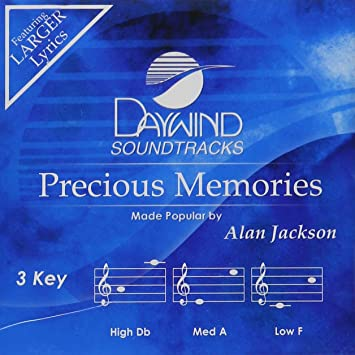Alan Jackson Precious Memories Accompaniment Performance Track