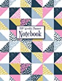 2019 Weekly Planner Notebook: Quilt Pattern Design Calendar and Organizer - January through December 2019