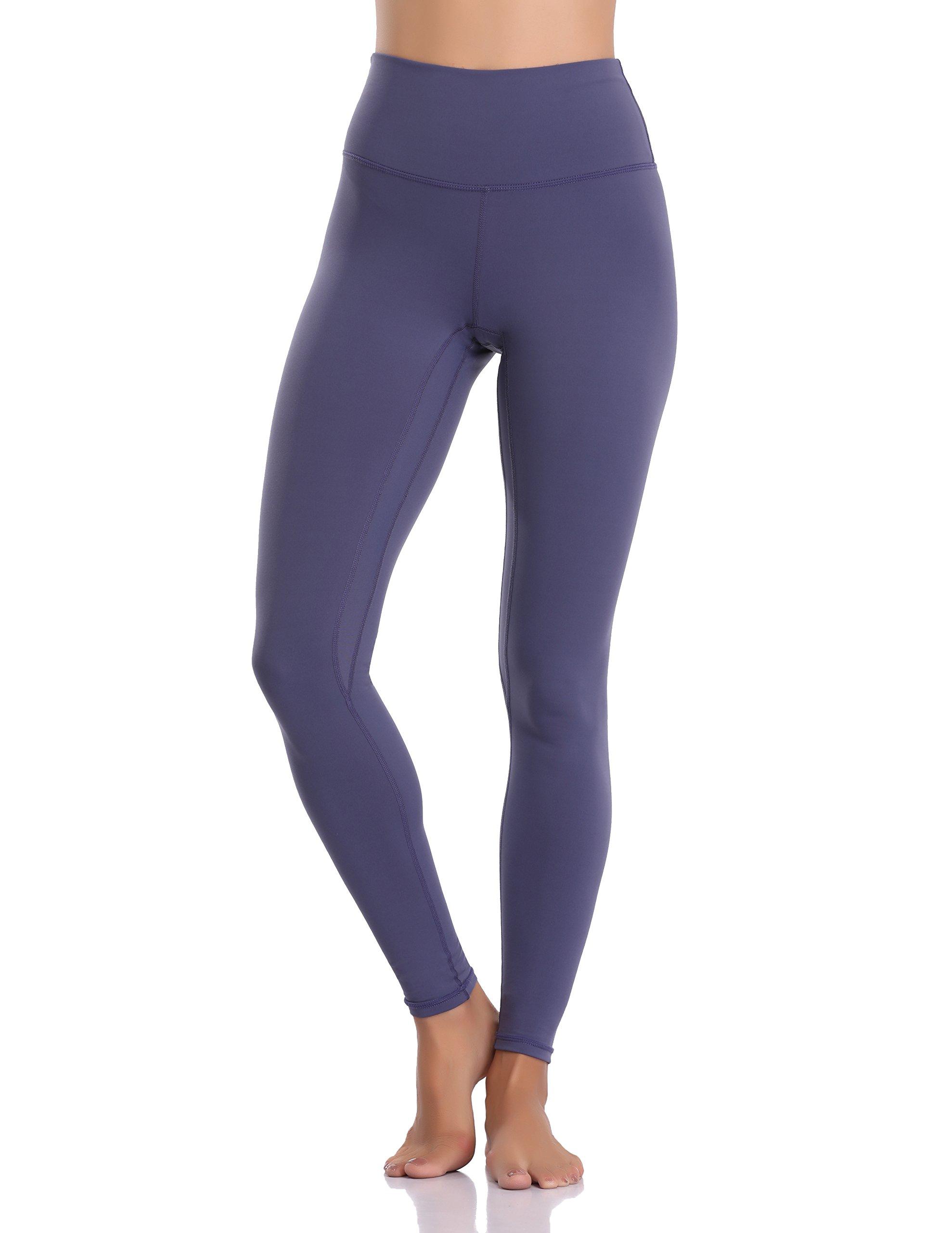 Colorfulkoala Women's Buttery Soft High Waisted Yoga Pants Full-Length Leggings (M, Midnight Navy)