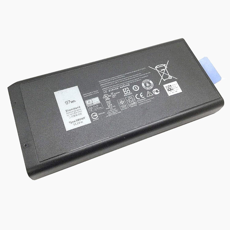Dentsing 97Wh X8VWF Battery for Dell Latitude 14 E5404 E7404 VCWGN YGV51 453-BBBE Series