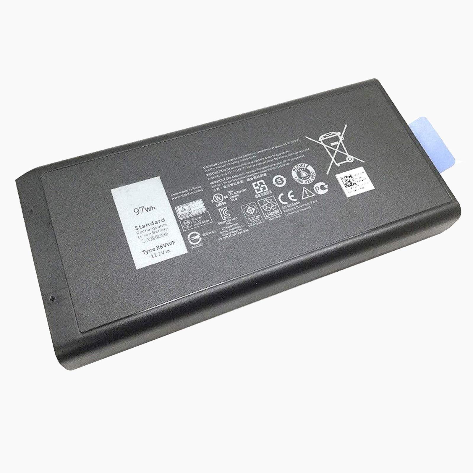 Bateria 97Wh X8VWF Dell Latitude 14 E5404 E7404 VCWGN YGV51
