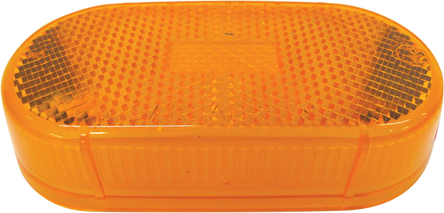 Peterson Manufacturing 10715A Amber Replacement Lens