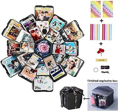 Amazon.com: Caja de regalo de explosión creativa, álbum de ...