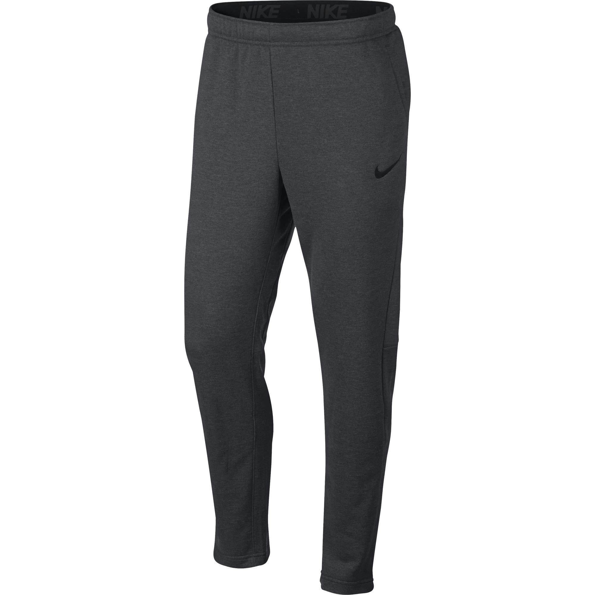 Nike Men's Dry Fleece Training Pants, Charcoal