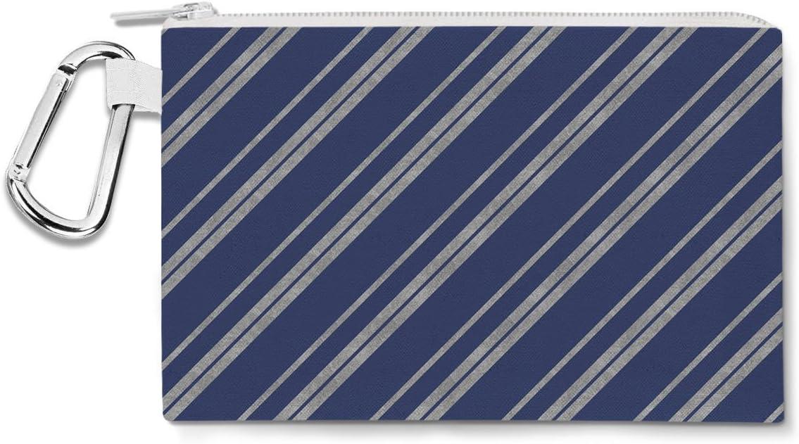 Ravenclaw casa rayas plata lienzo bolsa Zip – multiusos Estuche Bolsa en 6 tamaños: Amazon.es: Oficina y papelería