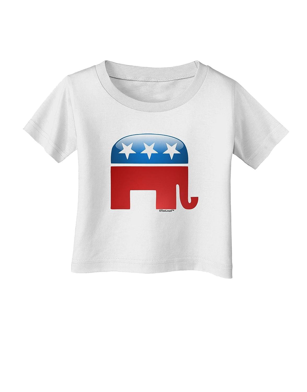 TooLoud Republican Bubble Symbol Infant T-Shirt