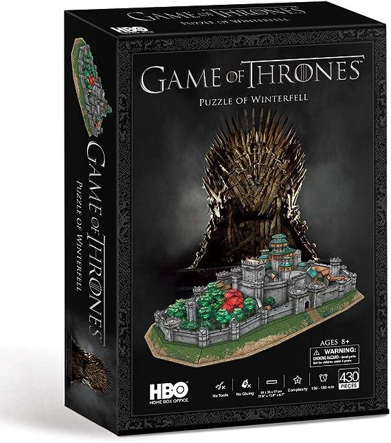 Rompecabezas 3D de Game of Thrones Winterfall: Amazon.es: Juguetes y juegos