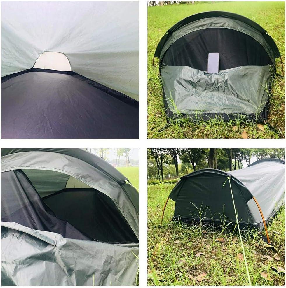 Kleines Packma/ß Wasserdicht Zelt f/ür Trekking Tunnelzelt Campingzelt Trekkingzelt f/ür 1 Person Ultra-leicht Camping Outdoor