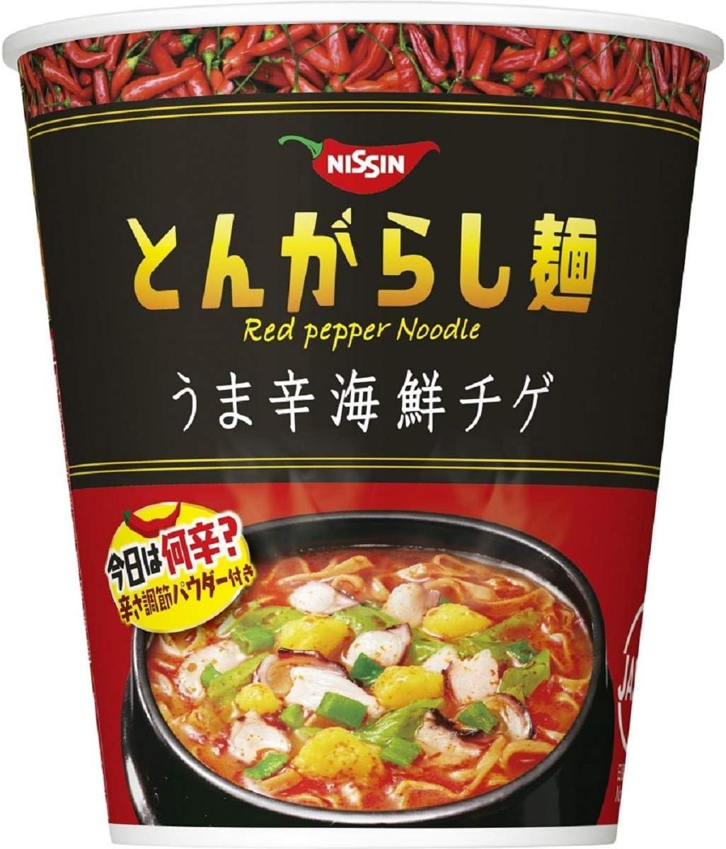 7位:日清食品『とんがらし麺 うま辛海鮮』