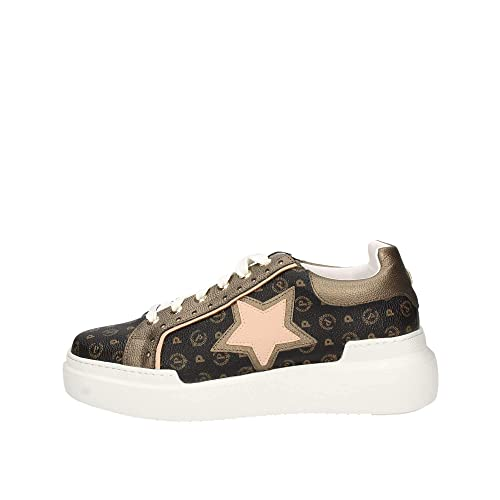 Pollini TA15044G07 Sneakers Donna Bronzo 36: Amazon.it
