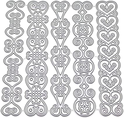 Lace Metal Cutting Dies Stencil Scrapbooking DIY Album Decor Embossing Cards