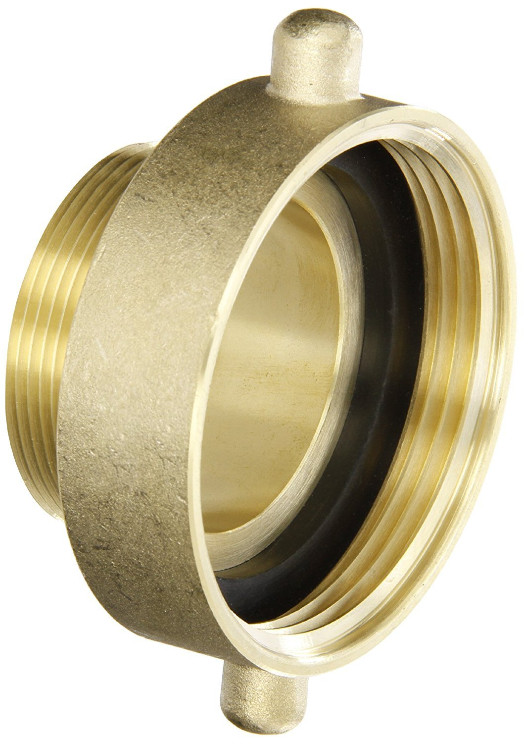 Campbell Fittings HA2520T Hydrant Adapter, 2.5'' ID, Brass, 2-1/2'' NST x 2'' NPT