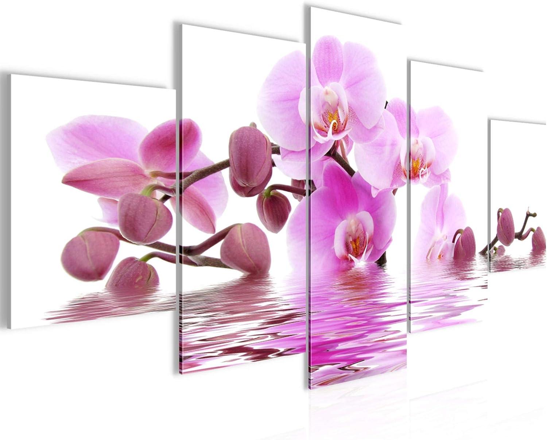 WANDBILDER Blumen Orchidee VLIES LEINWAND BILD XXL BILDER KUNSTDRUCK 20835P