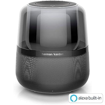 d7a89b6db872f6 Amazon.com: Harman Kardon Allure Smart Speaker for Alexa (BLACK)【Japan  Domestic genuine products】 【Ships from JAPAN】: Home Audio & Theater