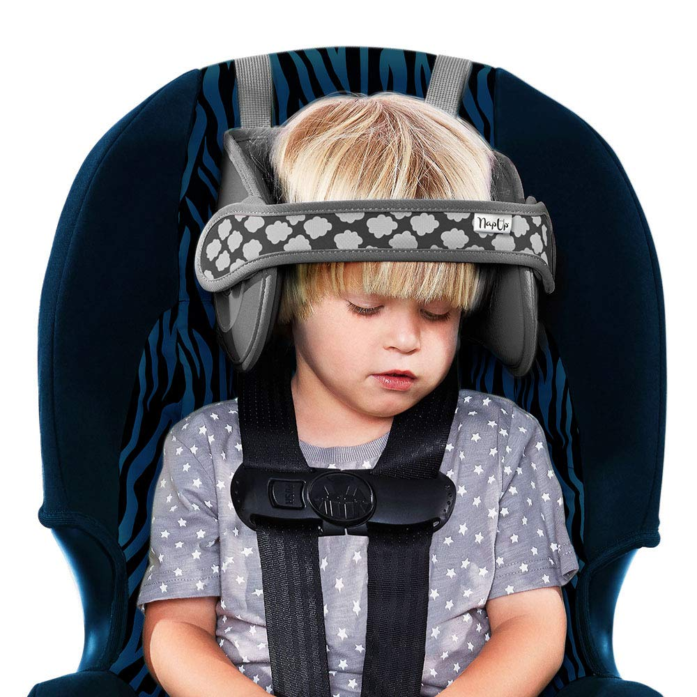 Amazon Com Napup Child Head Support For Car Seats Safe Comfortable Head Neck Pillow Support Solution For Front Facing Car Seats And High Back Boosters Baby Kids Travel Accessories