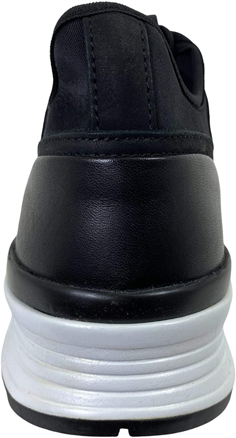 Tod's D78 Sneaker Uomo 69A Black Leather/Neoprene Shoe Man Nero