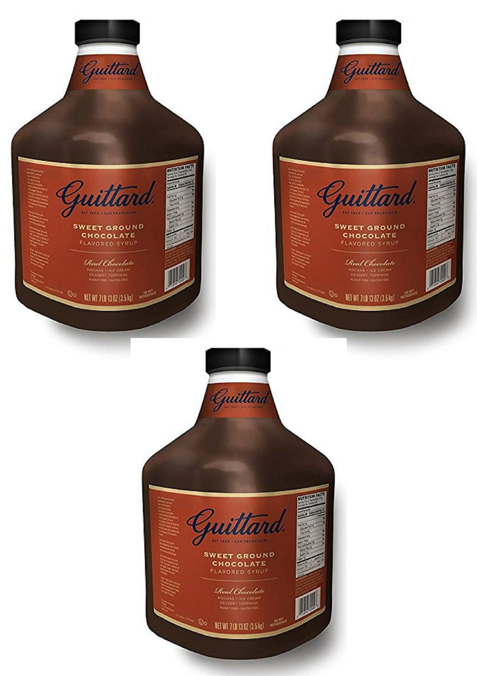 Guittard Chocolate Sauce 125oz (3 Pack)