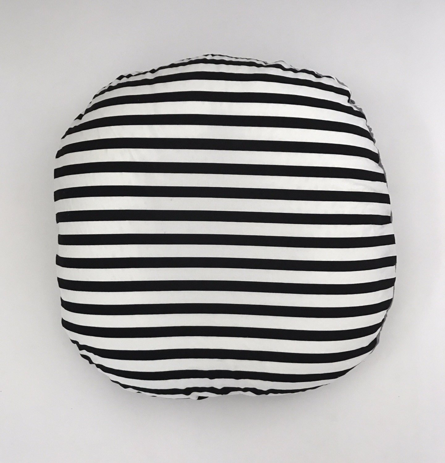Lounger Cover - Black and White Stripe