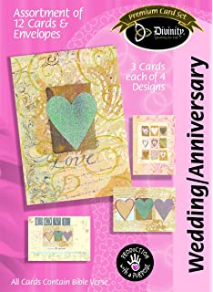 Amazon divinity boutique greeting card assortment divinity boutique greeting card assortment anniversarywedding paper hearts 22384n m4hsunfo Gallery