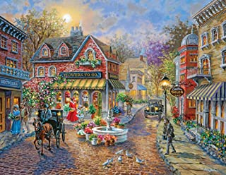 product image for Springbok's 350 Piece Jigsaw Puzzle Cobblestone Village