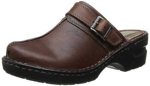 hot sale online 5477e c73e8 Eastland Mae Donna Nero Pelle Scarpe Pantofole Taglia Uovo ...