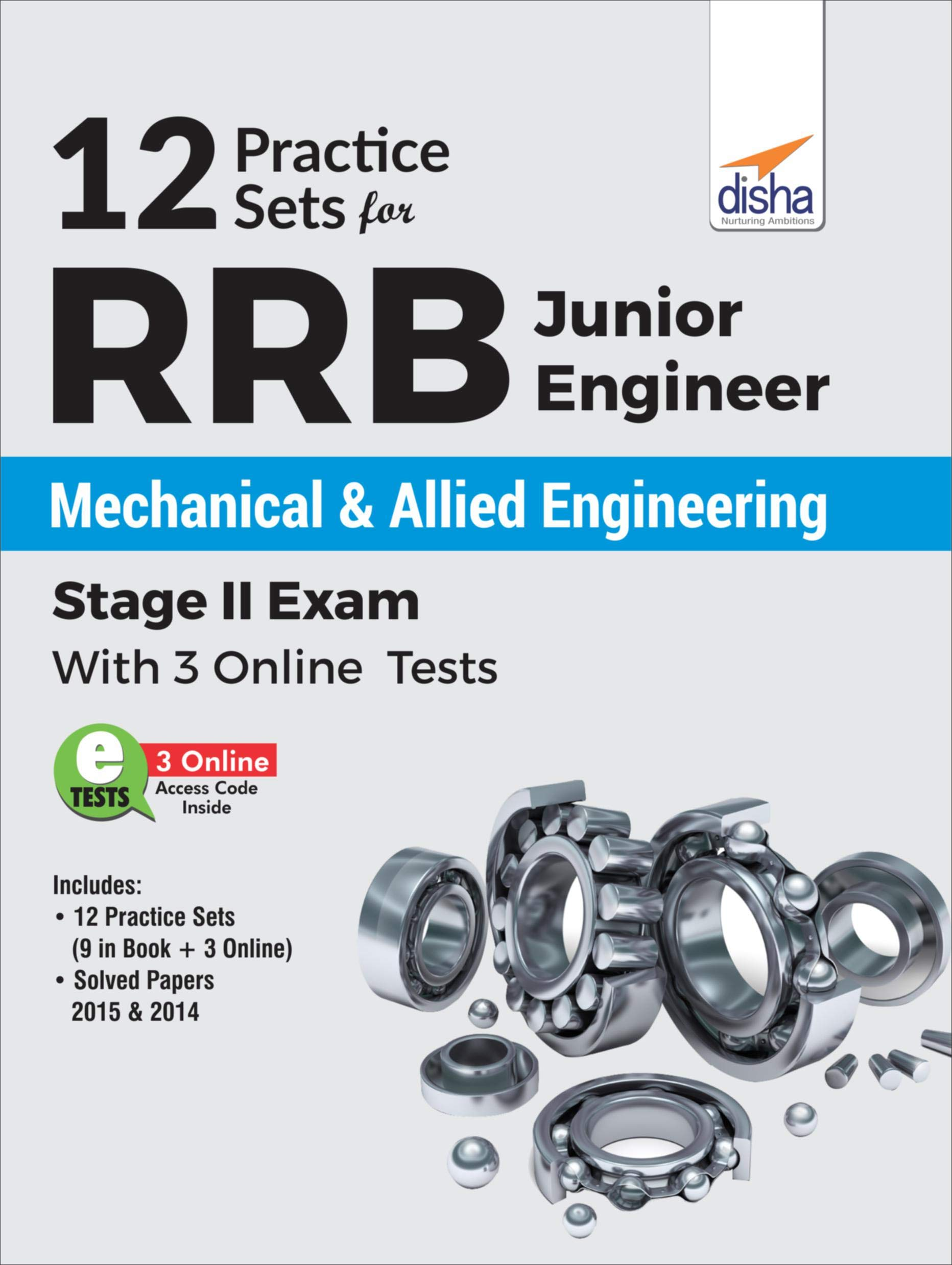 Buy 12 Practice Sets for RRB Junior Engineer Mechanical