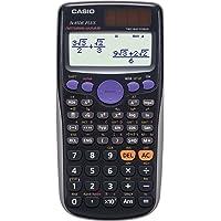 CASIO FX-85DE Plus wissenschaftlicher Taschenrechner / Schulrechner mit 252 Funktionen und natürlichem Display, Solar/Batterie