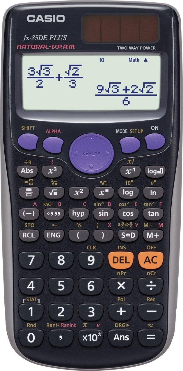 FX-85DE Plus - Wissenschaftlicher Taschenrechner - 10 Stellen + 2 Exponenten