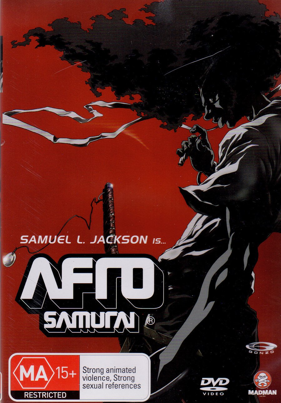 Amazon.com: Afro Samurai [Directors Cut] [NON-USA Format ...
