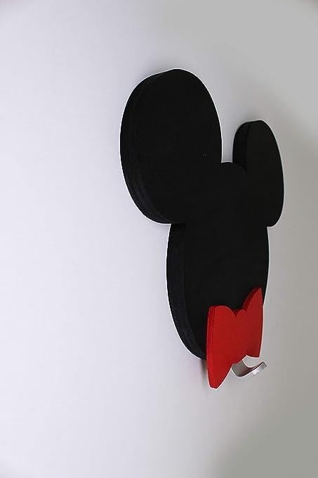 MIA STUDIO Colgador de pared 3D de Mickey o Minnie Mouse para ...