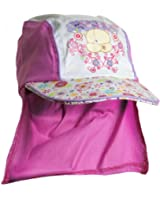 Forever Friends Girls Cotton Peak Legionnaires Cap