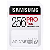 SAMSUNG PRO Plus SDXC Full Size SD Card 256GB (MB SD256H), MB-SD256H/AM