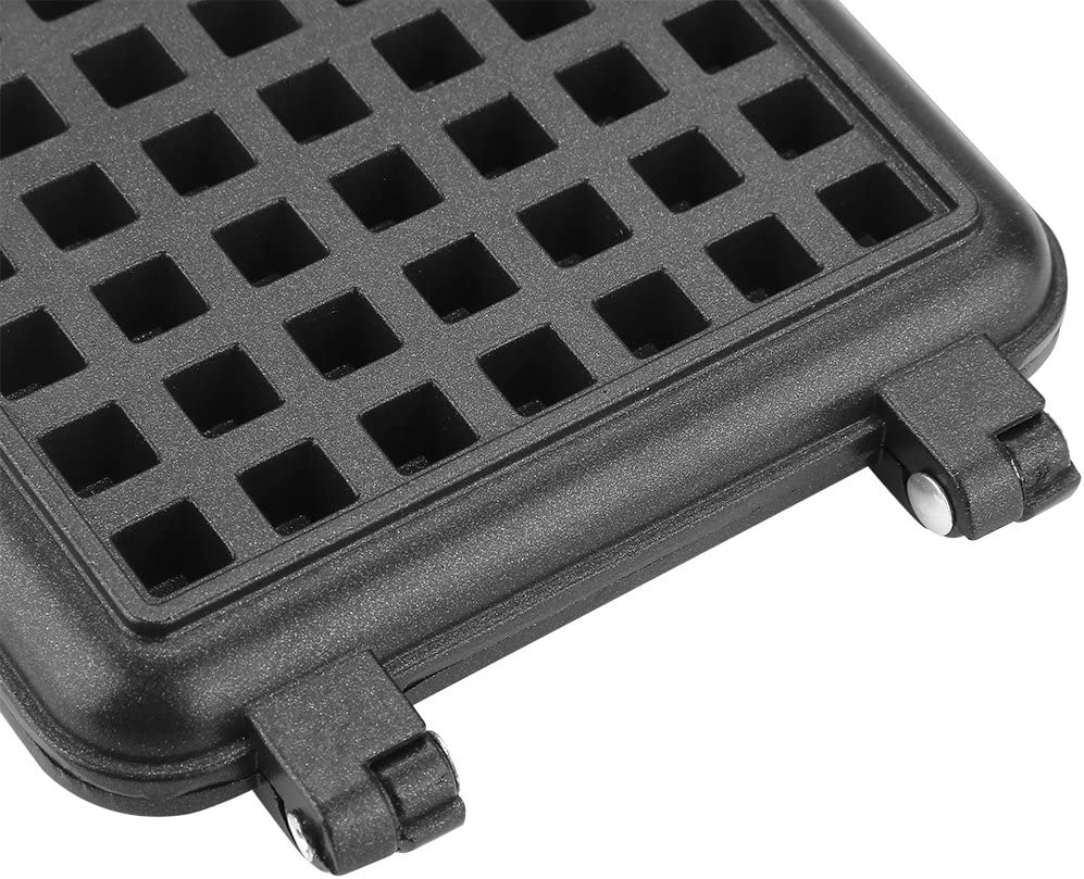 Snacks Hash Browns for Waffles Any Wet Batter Waffle Baking Mold Innovative Design Easy Clean Durable Waffle Baking Pan