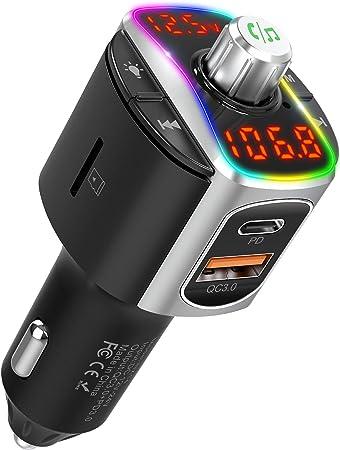Nulaxy Fm Bluetooth Adapter Car Bluetooth Fm Elektronik