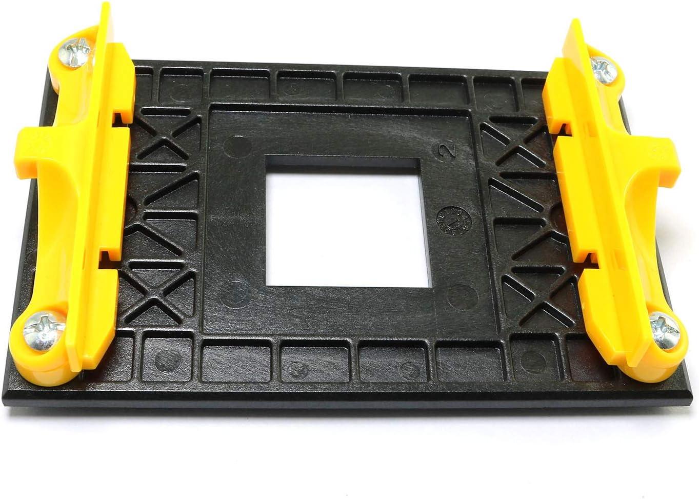 for AM4s Heat Sink Cooling Fan Mounting Clip-ON Type only RLECS AM4 Retention Bracket /& AM4 Back Plate AM4 CPU Fan Cooler Heatsink Radiator