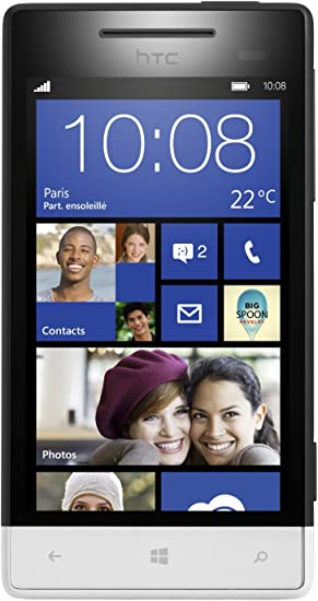HTC Windows Phone 8S - Smartphone Libre (Pantalla táctil de 4
