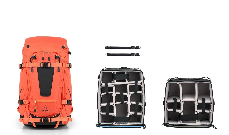 F Stop Tilopa 50 L Nasturtium Orange Bundle Mano Includes Pro Large And Slope Medium Icu Internal Camera Unit 1 Pair Of Gatekeepers