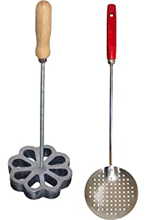 Bunuelera Iron Rossette with free Oil spoon, Molde para hacer bunuelos, Bunuelera with Rustic