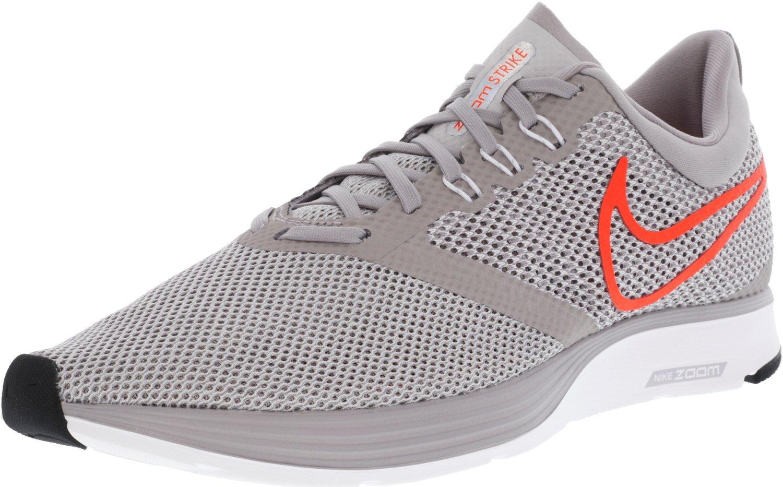 NIKE Women's Zoom Strike Running Shoes B06XV1RXM9 11.5 D(M) US|Atmosphere Grey / Total Crimson